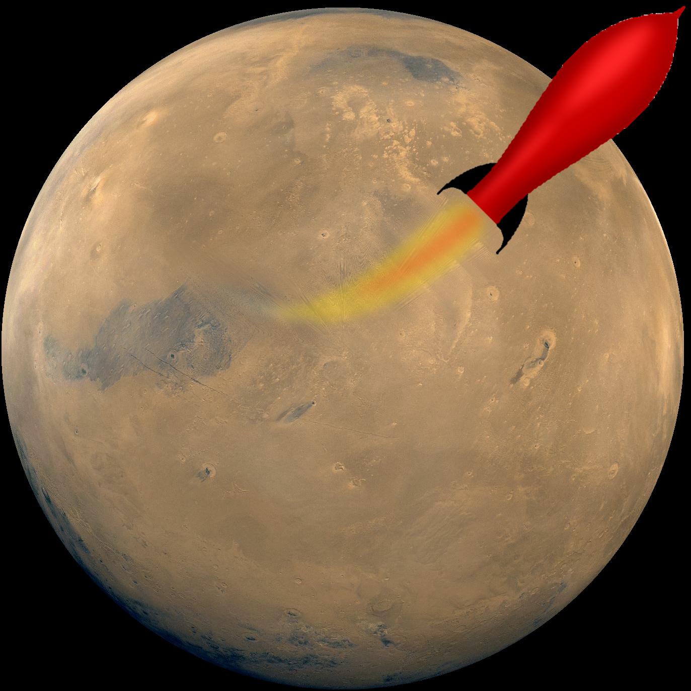 light beige planet mars - photo #12